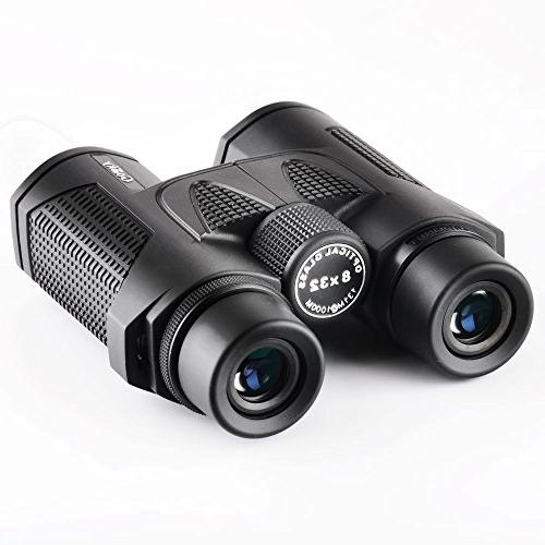 Gosky Prism 8X32 Binocular - FMC Film Lens Designed for Outdoor Such Climbing, Wildlife And