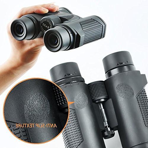 Gosky Prism 8X32 Waterproof Binocular FMC Lens - Outdoor Activities Such Climbing, Driving, Wildlife Scenery