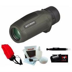 Vortex Optics S105 Solo 10x25 Monocular + Focus Foam Float S