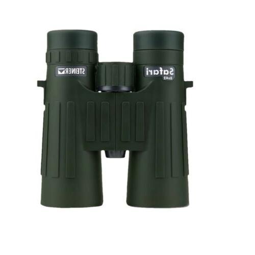 Steiner 8x42 Safari Roof Prism Binocular, 7.2 Degree Angle o