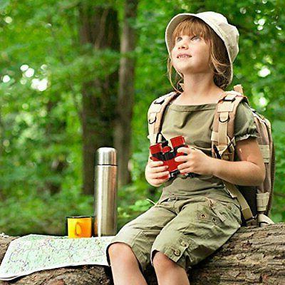 BlueCabi Proof Kids Binoculars - High Resolution Real Optics