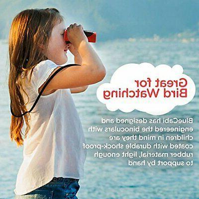 BlueCabi 6x21 Kids Binoculars - Resolution Real Optics