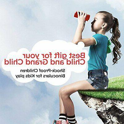 BlueCabi Proof 6x21 Kids Binoculars Resolution Optics