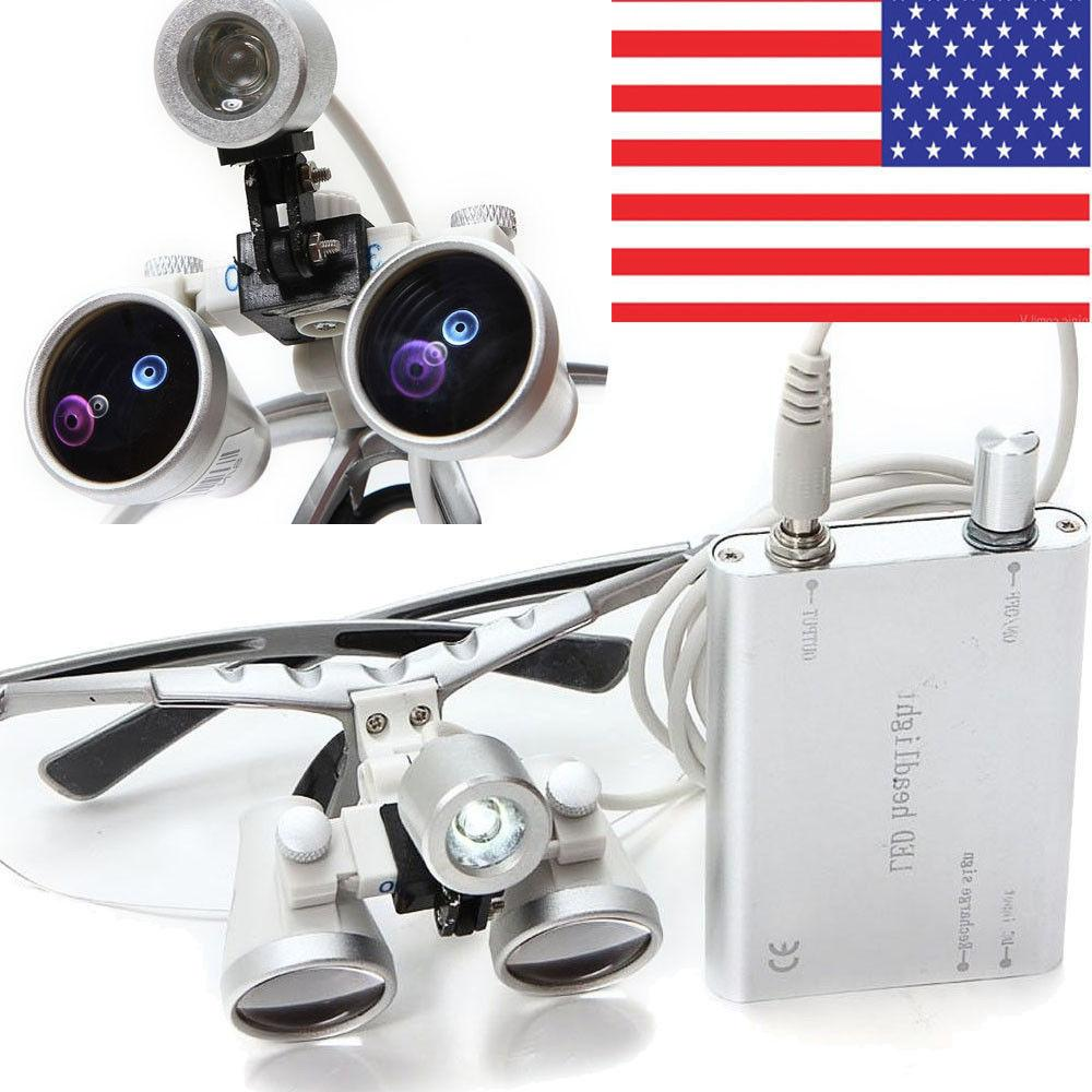 Dental Surgical Loupes 3.5X420mm Light