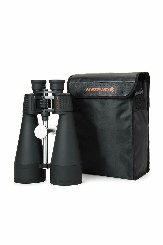 Celestron 20x80 Binoculars - CENTER FOCUS + FREE Case