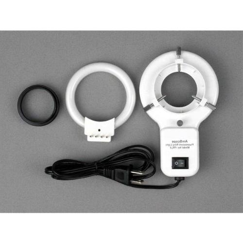 AmScope Binocular Inspection Boom + Ring Light