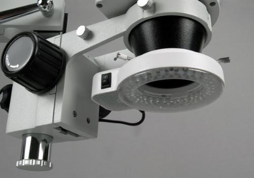 56 LED Boom Stand Zoom Microscope