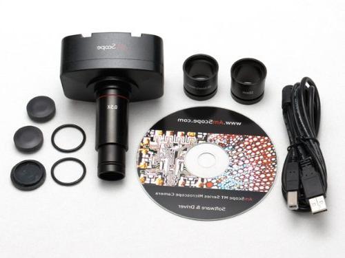 AmScope 3.5X-90X Zoom Stereo + Light USB Digital