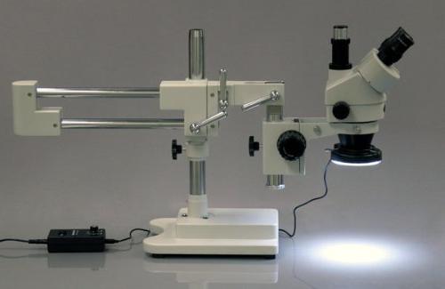 AmScope 3.5X-90X Boom Zoom + 144 Light