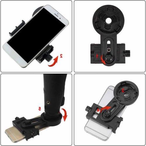 Cell Phone Mount Binocular Monocular Spotting Scope Hot