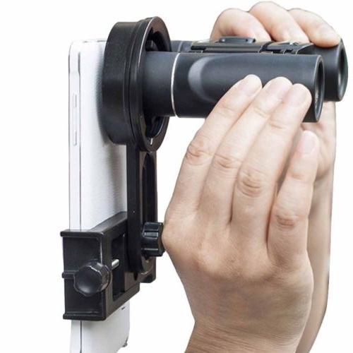 Cell Phone Holder Adapter Mount Monocular Spotting Scope