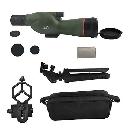 Gosky 15-45X60 Spotting - Waterproof Scope Target Bird Animal Hunting Outdoor and Phone