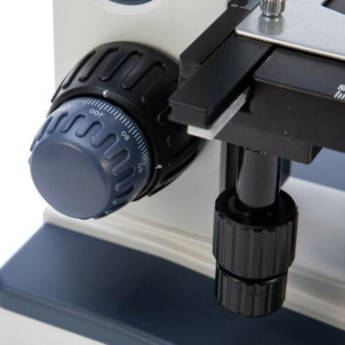 Trinocular Compound Microscope with Digital