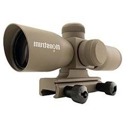 Monstrum Tactical 4x30 Ultra-Compact Rifle Scope with Illumi
