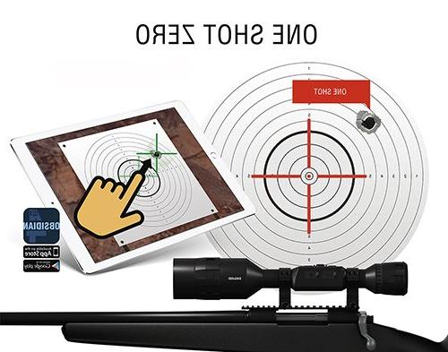 ATN 4 640x480, Thermal Rifle w/Ultra Next Sensor, WiFi, Stabilization, Range and Android Apps