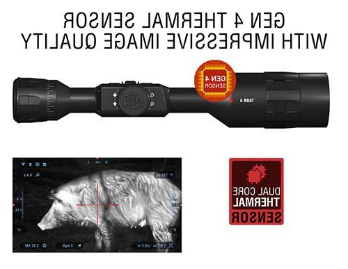 ATN 4 2.5-25x, w/Ultra Sensitive Sensor, Image Stabilization, Range and and Apps