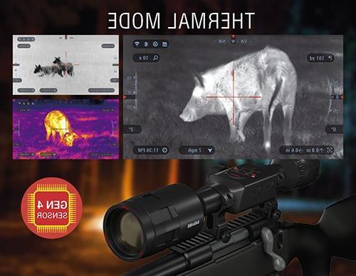 ATN ThOR 640x480, Rifle w/Ultra Sensitive Next Sensor, Range Calculator and and Apps