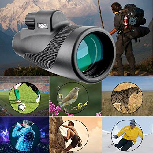 Gosky HD Compact Monocular Bird Camping Hiking Outdoor