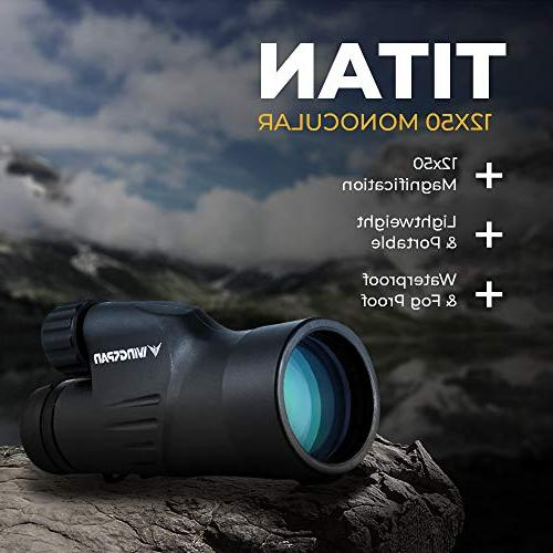 Wingspan High Scope. Optimal Durable. Waterproof. Fog Specially Designed for Watching, Nature Watching,