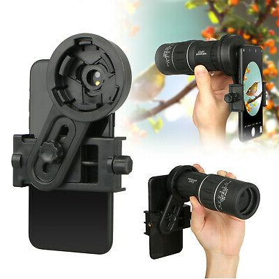 universal cell phone adapter mount binocular monocular