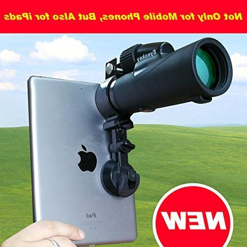 Cellphone Adapter/Mobile Compatible Spotting Scope, Microscope Astronomical 85g