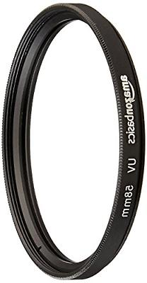 uv protection lens filter 58mm durable