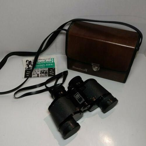 vintage binoculars 7x35 sportview with case