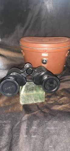 Vintage Nikon Nippon Kogaka Tokyo Binoculars With Case