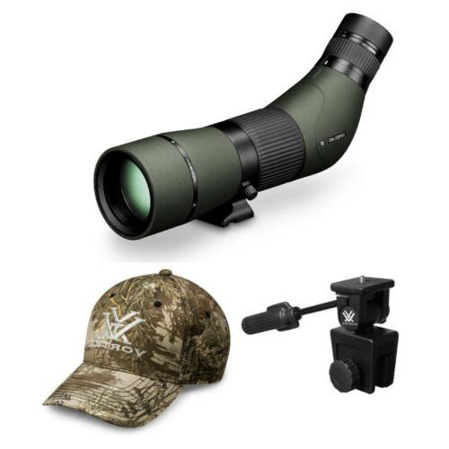 viper hd 15 45x65 spotting scope angled