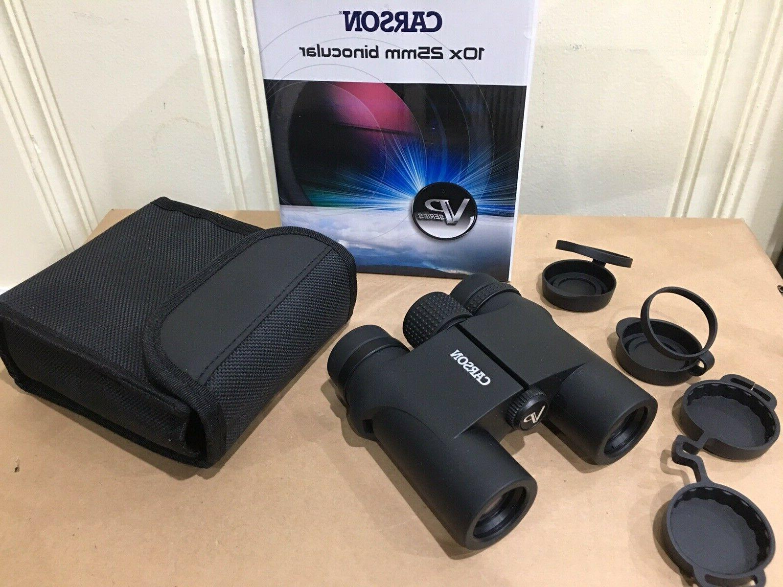 vp series 10x25mm binoculars black vp 025