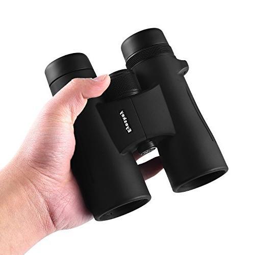 Eyeskey Binoculars Choice Travelling, Hunting, Hiking, and Wildlife, Compact Lightweight, Wide