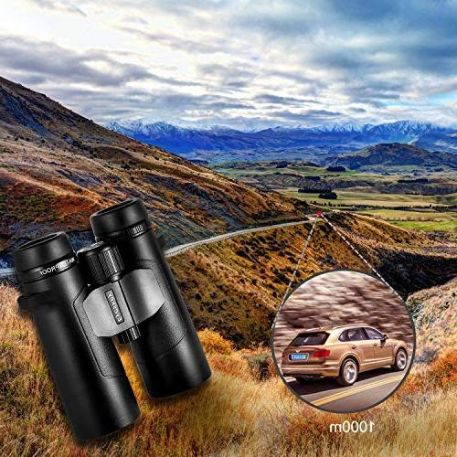 Eyeskey Waterproof Binoculars for Professional Traveler- Wide More Clear Camping, Hunting, Travelling, Surveillance