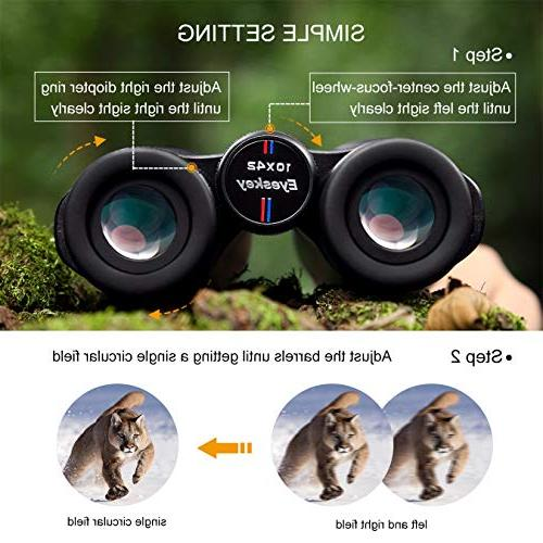 Eyeskey 10X42 Binoculars for Wide of More Clear Camping, Surveillance