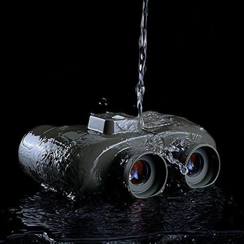 Hooway 7x50 Marine Binocular & Sports,Hunting,Bird Green