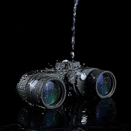 Marine Binocular Rangefinder & Sports,Hunting,Bird Green