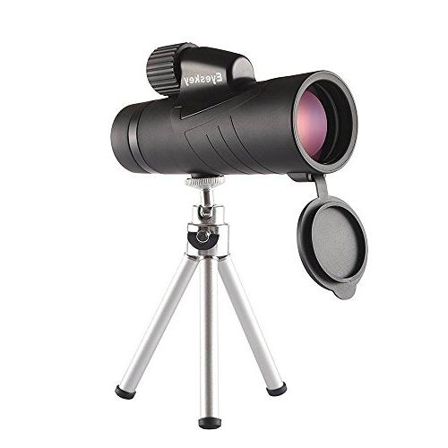 10x42 Monocular Side Tripod, an Adapter For iPhone6Plus and