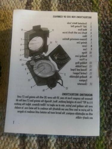 Eyeskey Waterproof Aluminum Alloy Compass