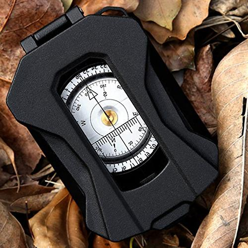 Eyeskey Aluminum Alloy Compass Inclinometer Hunting, Motoring,