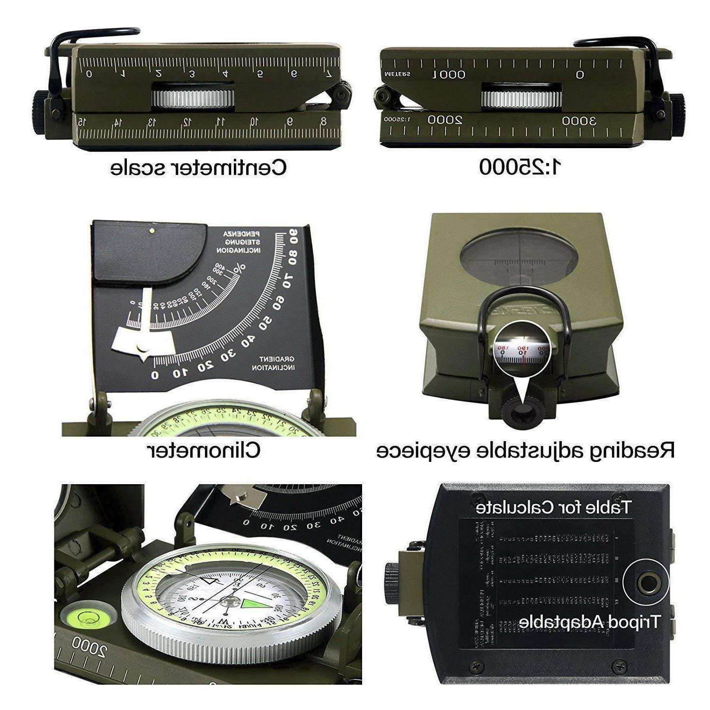 Metal Compass W Inclinomete