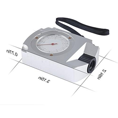 Compass Camping Hiking with Calculator