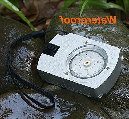 Compass Camping with Measurer Distance Calculator