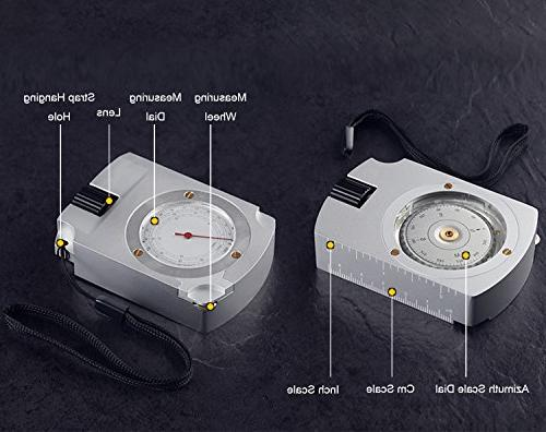 Eyeskey Waterproof Compass for with Calculator