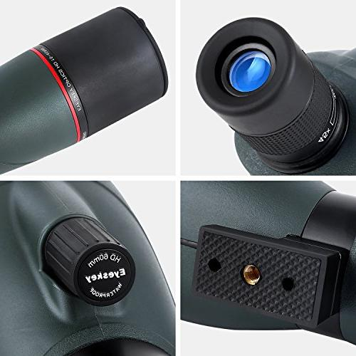 Eyeskey 15-45x60 Zoom Spotting - for Prism Scopes with Carry