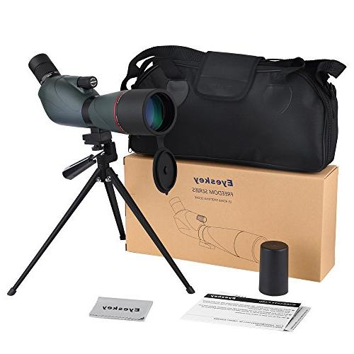 Prism Spotting Scopes Carry Pouch and Green