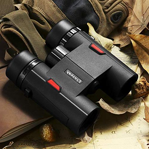 Eyeskey 8x32 Binoculars Teenagers, Travel Outdoor Sports and
