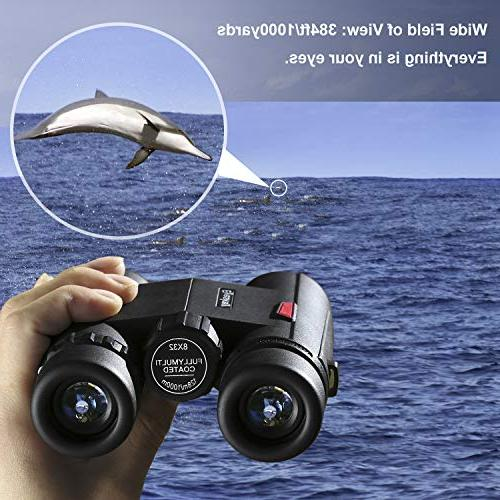 Eyeskey 8x32 Compact Binoculars for Teenagers, Specially Travel Also Outdoor Sports and Concerts