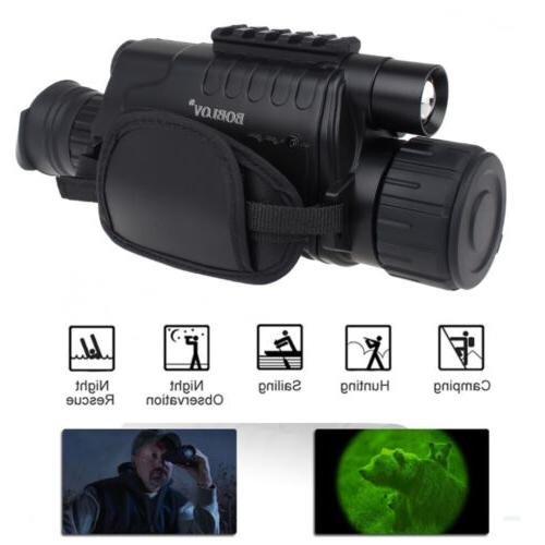 5x40 Infrared Night Vision Monocular Observation Telescope W