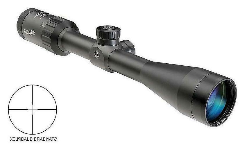 NEW Sig Sauer Whiskey 3 Hunting Riflescope 3-9x40mm 2nd Foca