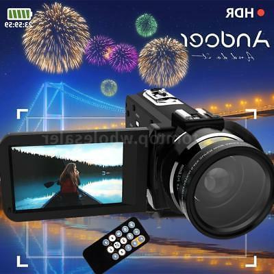 WiFi FULL HD 1080P 24MP 16X ZOOM Touch Screen Digital Video
