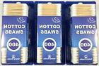 Wood Stick Cotton Swabs cotton wooden q tip  1200pcs